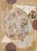 Edouard Lèon Théodore Mesens (Brüssel/Bruxelles 1903 – 1971)La principesse allemande, 1960;Collage