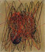 Roberto Crippa (Monza 1921 – Bresso 1972)Spirale, 1950-51;Öl auf Leinwand, 35 x 30 cm Verso