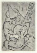 Roberto Iras Baldessari (Innsbruck 1894 – Rom/Roma 1965)Maschera, 1920/1921;Radierung u.