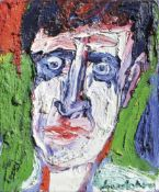 Bengt Lindström (Berg Municipality 1925 - 2008)Porträt eines Mannes;Öl auf Leinwand, 55 x 46 cm