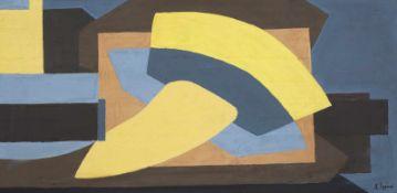 Mauro Reggiani (Nonantola 1897 – Mailand/Milano 1980) Composizione, 1939 ca; Composizione, um 1939