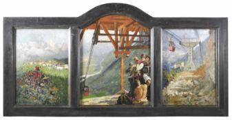 Alcide Davide Campestrini Trient/Trento 1863 – Mailand/Milano 1940)Fai della Paganella, Trentino,