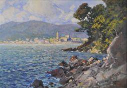 Cesare Bentivoglio (Genua/Genova 1868 – 1952)(Genua/Genova 1868 – 1952);Lago di Garda