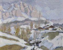 Julius v. Kaan-Albest (München/Monaco 1874 – Berlin/Berlino ca. 1944)Julius v. Kaan-Albest;Öl auf