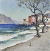 Lois Alton (Krumau 1894 – Innsbruck 1972)Öl auf Karton, 70 x 69 cm, gerahmt Signiert