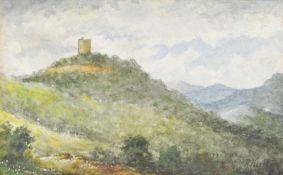 Alexander Koester (Bergneustadt 1864 – München / Monaco di Baviera 1932)Leuchtenburg bei Kaltern;
