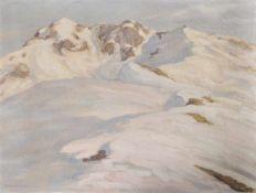 Max Angerer (Schwaz 1877 – 1955)Tiroler Winterlandschaft;Öl auf Leinwand, 51,5 x 68 cm, gerahmt