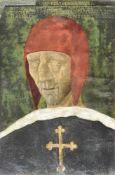 Maler des 19. Jh./Pittore dell'Ottocento Totenbildnis Kaiser Maximilian I. von Österreich;Nach dem