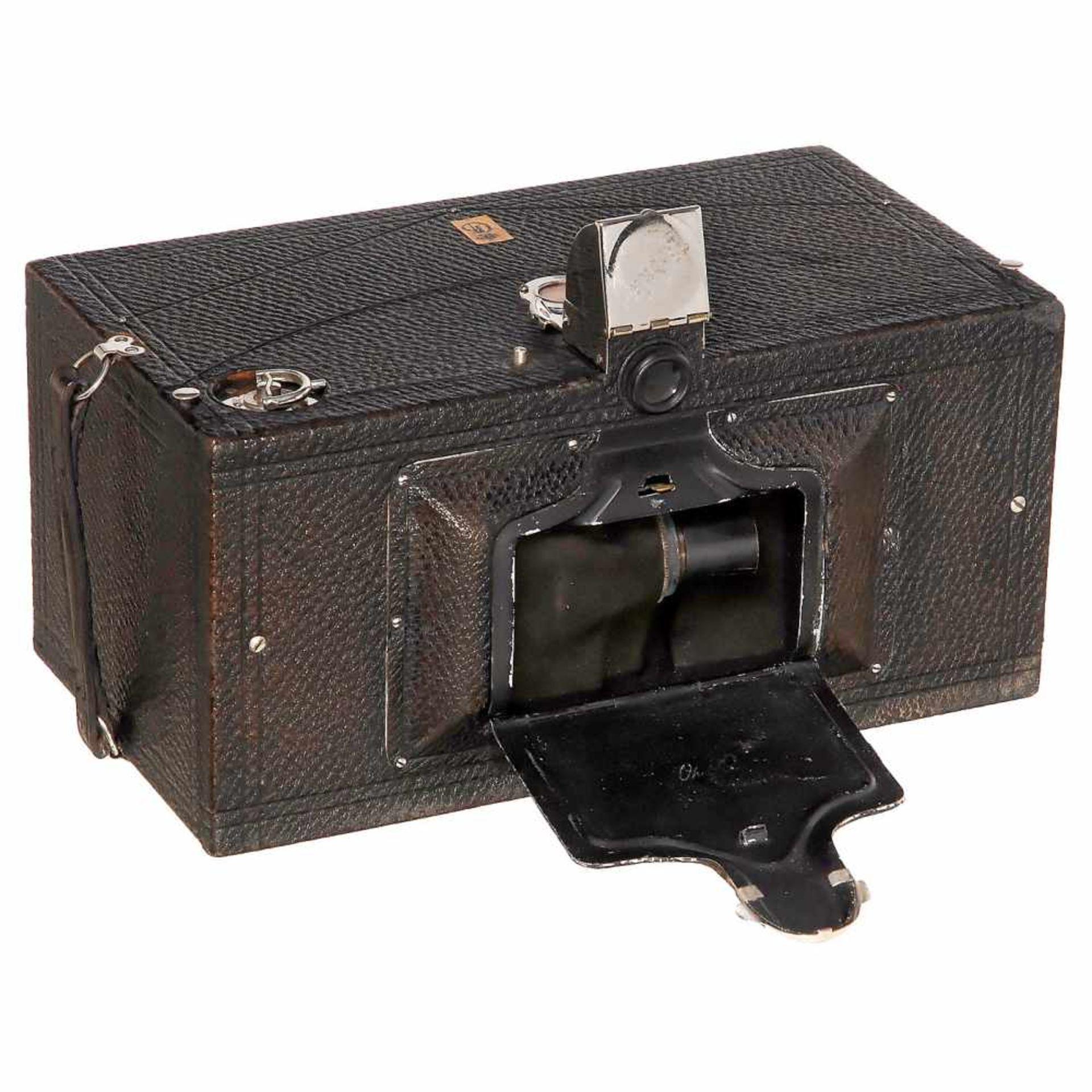 No. 4 Panoram-Kodak (Mod. B) with Danish Royal Provenance, 1900Eastman Kodak, Rochester, USA. Camera
