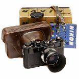 """Nikon S2 (Black), Type 1, c. 1956Nippon Kogaku, Tokyo. No. 6170963. Extremely rare first type """""""