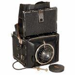 Mentor-Compur-Reflex, c. 1929Mentor-Kamerafabrik (Goltz & Breutmann), Berlin & Dresden. Size 6,5 x 9