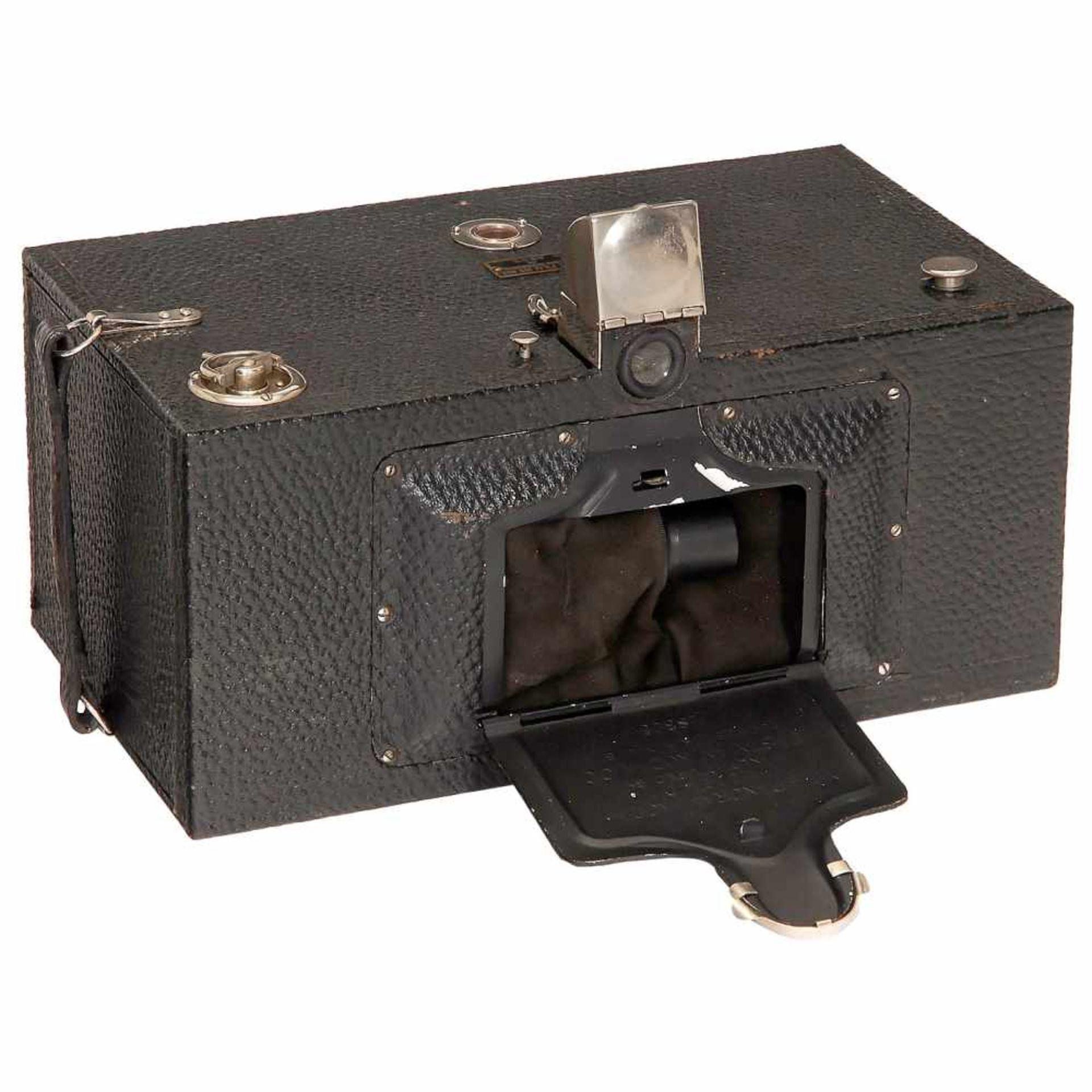 No. 4 Panoram Kodak Model D, c. 1900Eastman Kodak, Rochester, USA. Size 3 ½ x 12 in. on film type