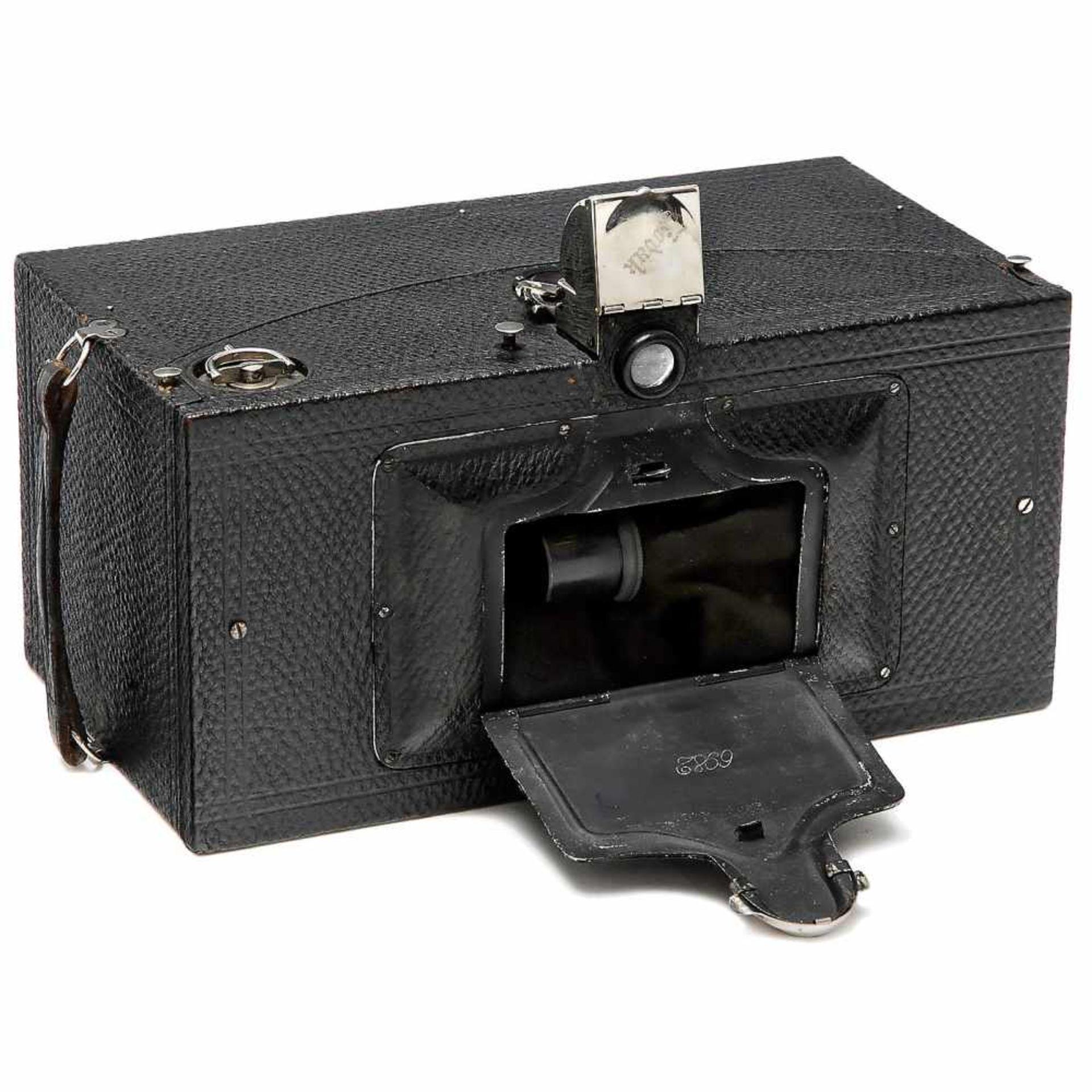 No. 4 Panoram-Kodak, c. 1900Eastman Kodak, Rochester. Model B, size 3½ x 12 in. on film type 103,