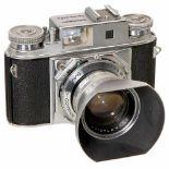 Prominent II with Nokton 1,5/50 mm, 1959Voigtländer, Braunschweig. No. B 64324, Nokton 1,5/50 mm,