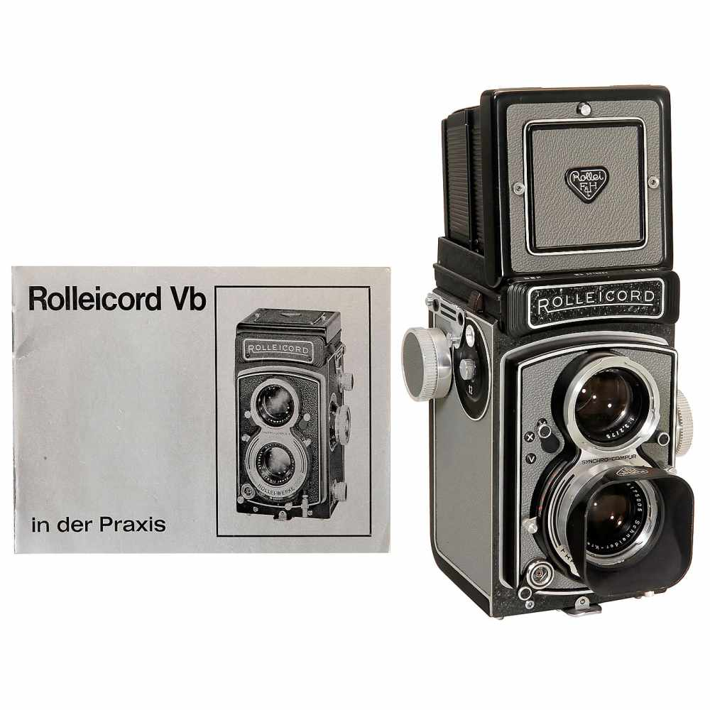 "Lot 26 - Near-Mint Rolleicord Vb ""MXV"", 1962Franke & Heidecke, Braunschweig. No. 2610684, Xenar 3,5/75 mm,"