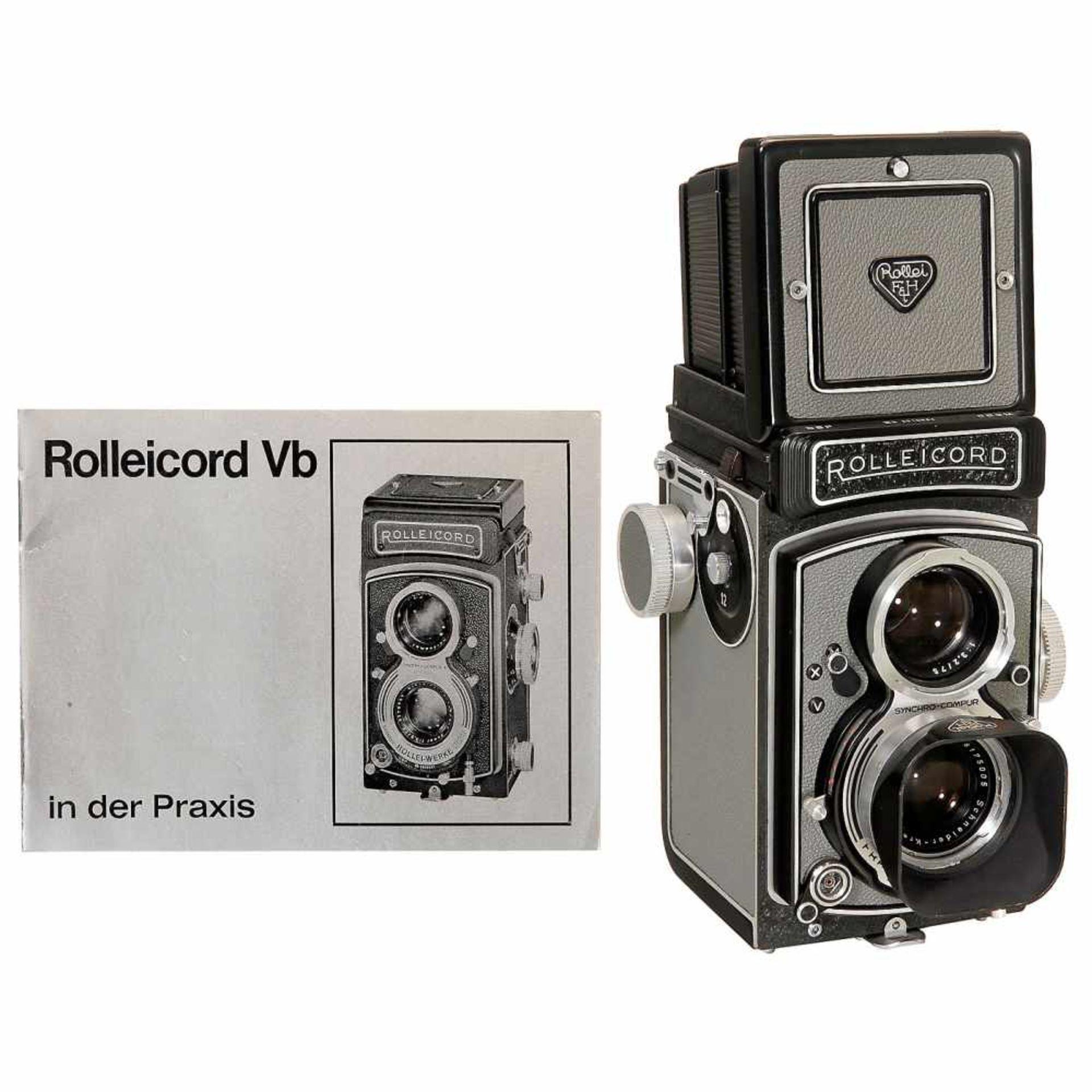 "Near-Mint Rolleicord Vb ""MXV"", 1962Franke & Heidecke, Braunschweig. No. 2610684, Xenar 3,5/75 mm,"
