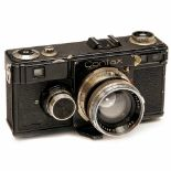 Contax I (Version 4/5), 1933Zeiss Ikon, Dresden. No. Y 29465, Sonnar 2/5cm, no. 1629628. –