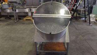 Stainless steel unscrambler for bottles. Machine s