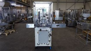 CMC single head screw capper with vacuum pick and
