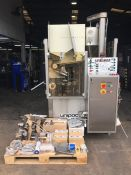 Romaco Unipac 90 combined plastic and metal tube f
