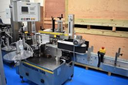 PAGO Front and Back Labeller with wrap unit Year: