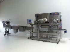 Interpac Waldner model TS6030 tray sealer for sing