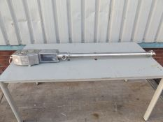 Kecol model H100 compressed air reciprocating pump
