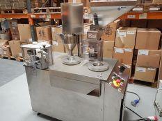 Capsugel model CAP-8 semi automatic production sca
