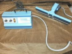 Sontex Hot Jaw Bag Sealer. Located in Corby