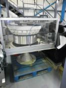 Vibratory Bowl with Controller. Located in Corby