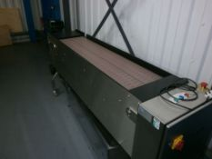 Accumulation table, Stainless steel construction,