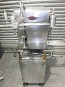 King 6 Head Liquid Filler Piston Pump Filler