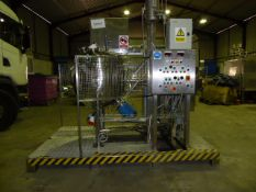 Skerman TT-142N/MP-988 Counter- Rotating Cooking Vessel