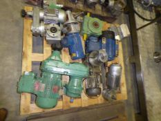 Four Pallets of Pumps and Motors