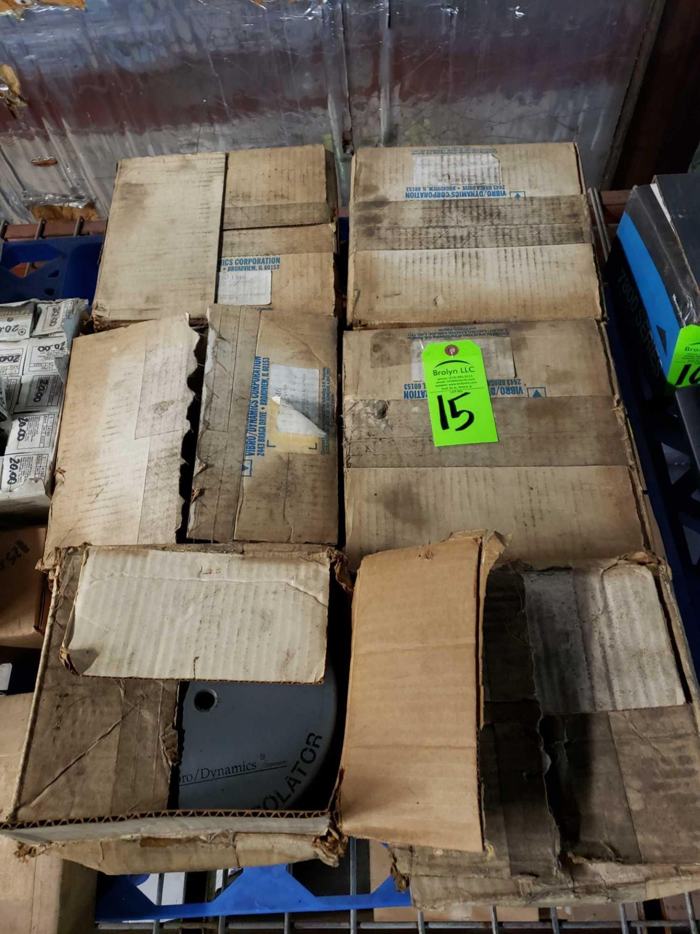 Lot 15 - Qty 6 - pairs Micro/Level Isolater machine isolator pads. New in boxes.