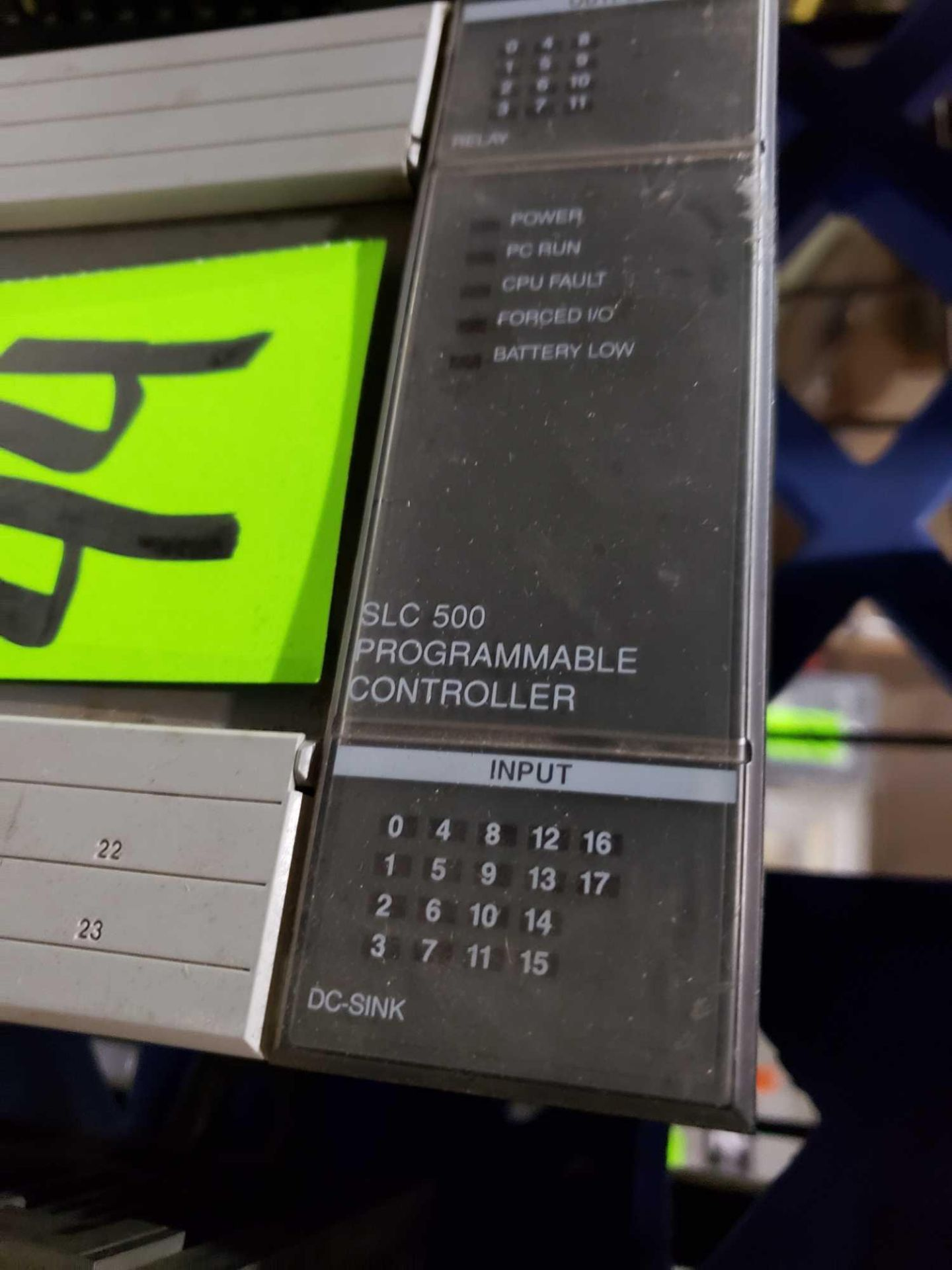 Lot 44 - Allen Bradley SLC500 programmable controller as pictured.