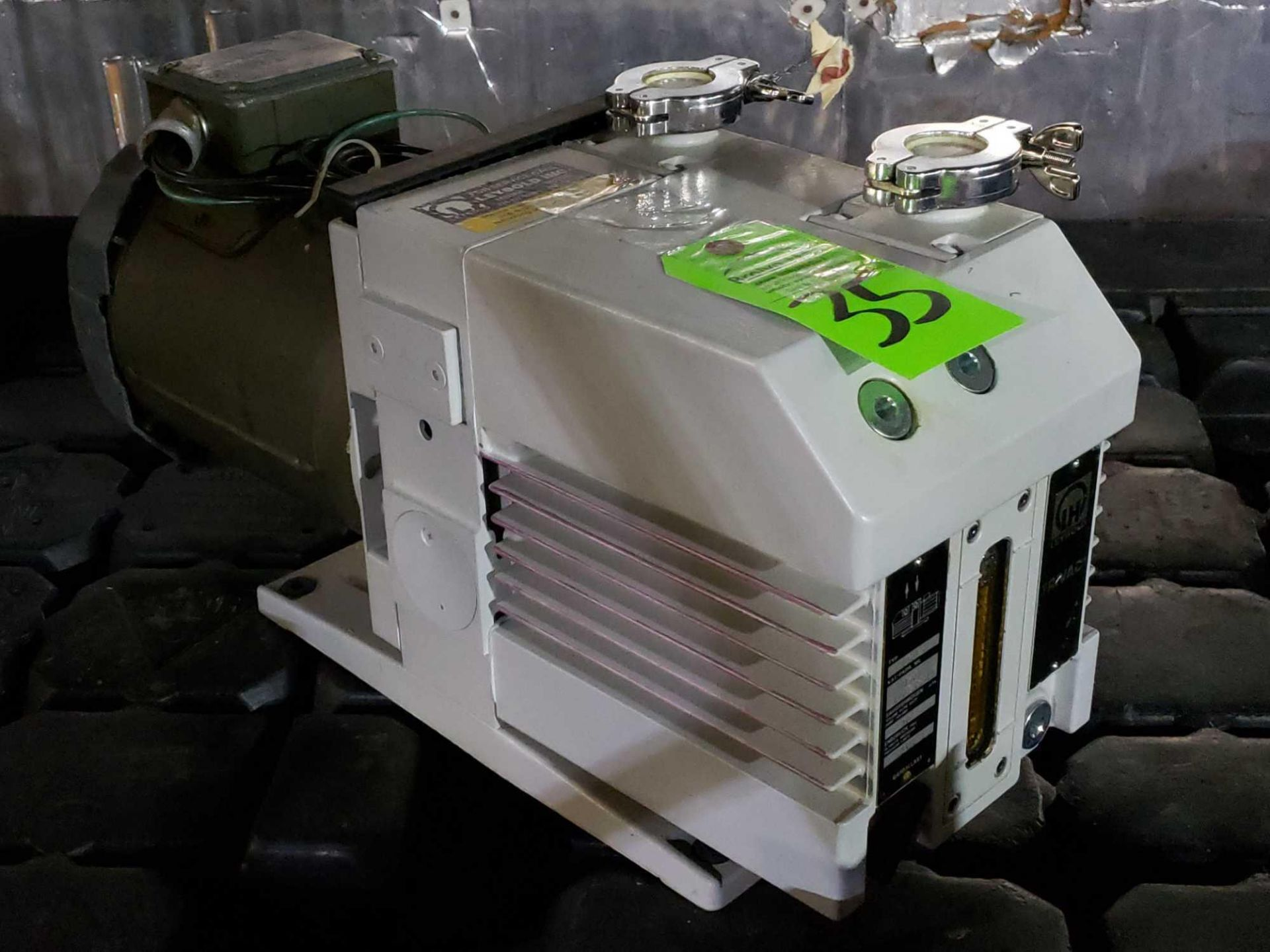 Lot 35 - Leybold TriVac model D16B vacuum pump.