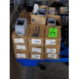 Lot 23 - Qty 19 - EGS O-Z/Gedney model FD-1-75 boxes. New in boxes.