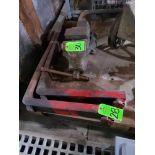 Lot 28 - Pair of lift truck / forklift forks