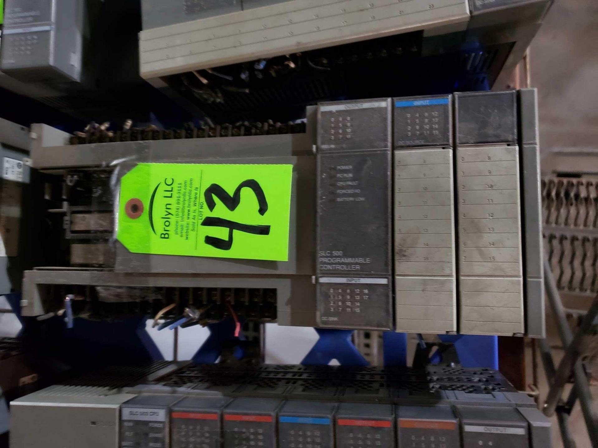 Lot 43 - Allen Bradley SLC500 programmable controller as pictured.