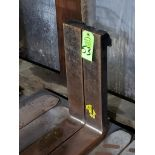 Lot 53 - Pair of forklift / lift truck forks.