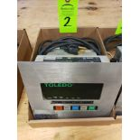 Lot 2 - Toledo scale display model 8510