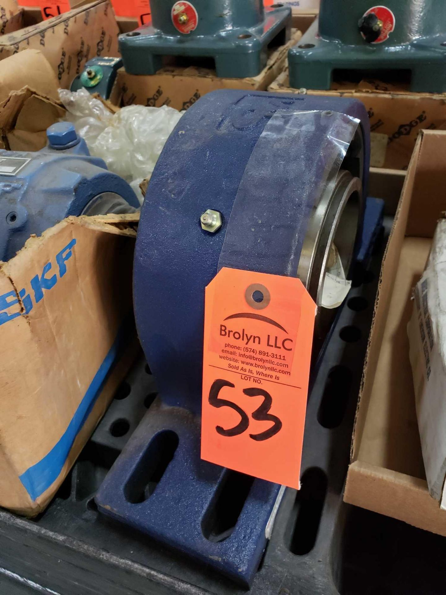 Lot 53 - OM Blue Brute Part Number QMPF20J311S. New without box.