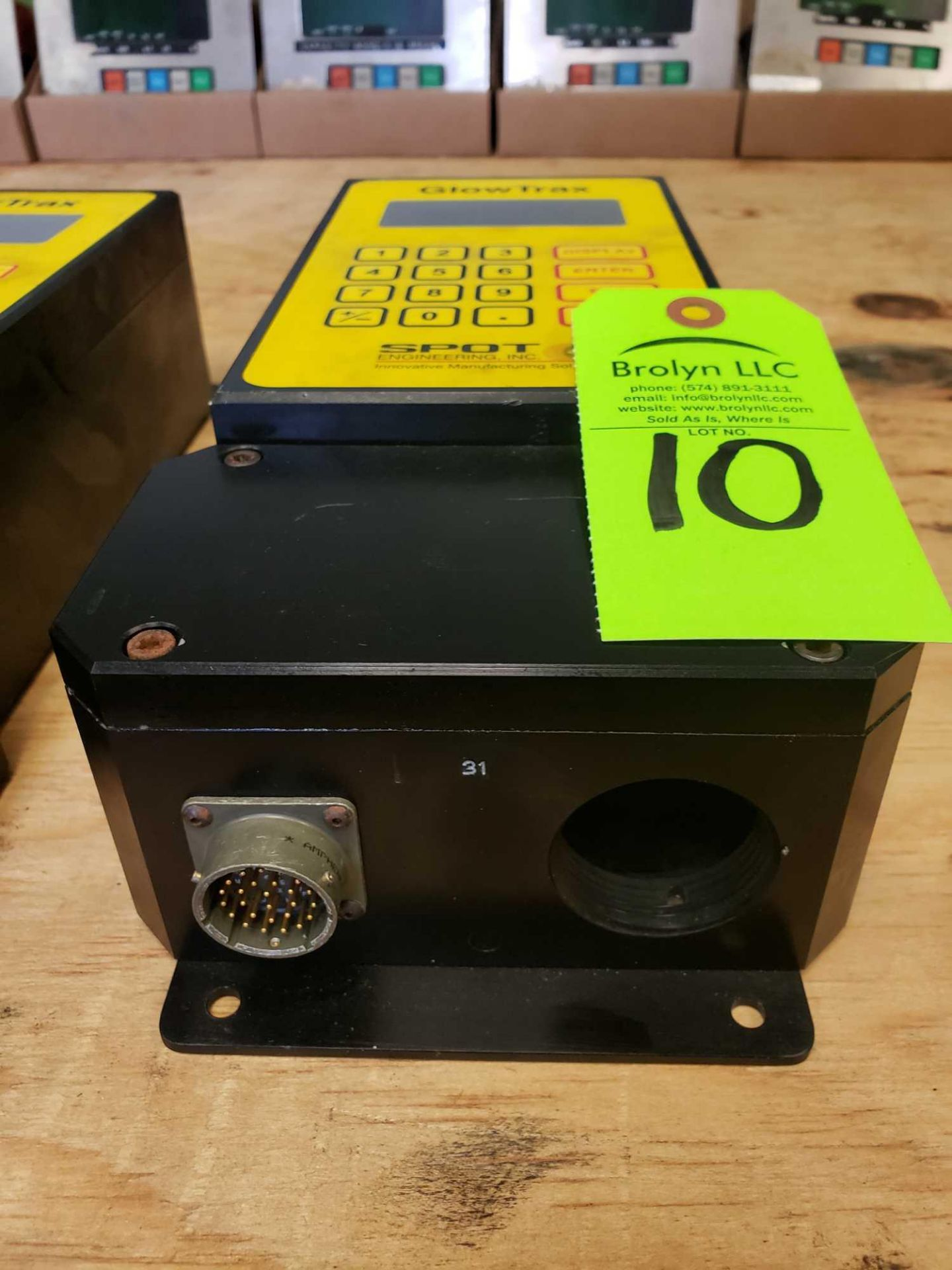 Lot 10 - Spot Technologies GlowTrax Mercury Detection System