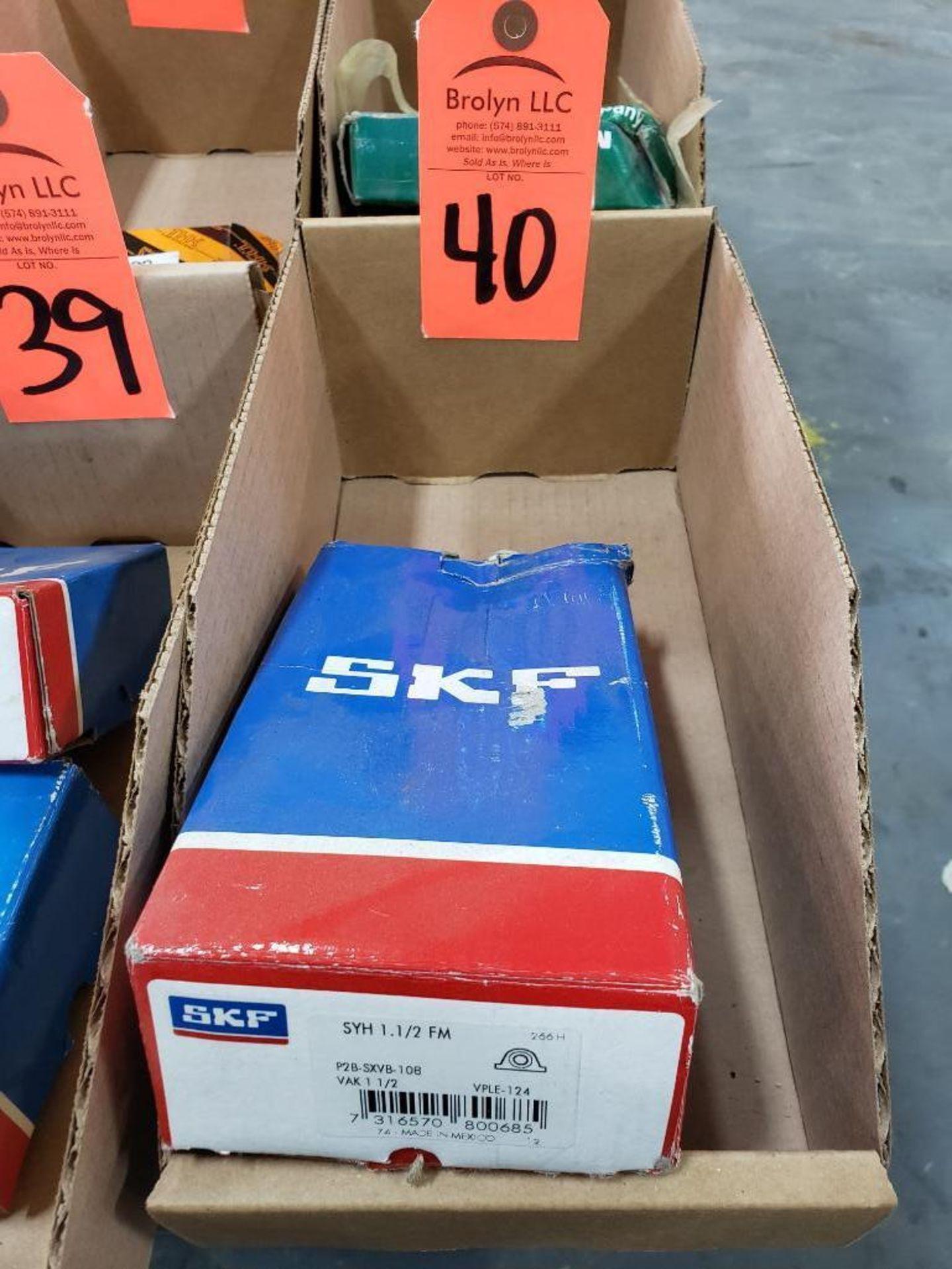 Lot 40 - SKF model P2B-SXVB-108 bearings. New in box.