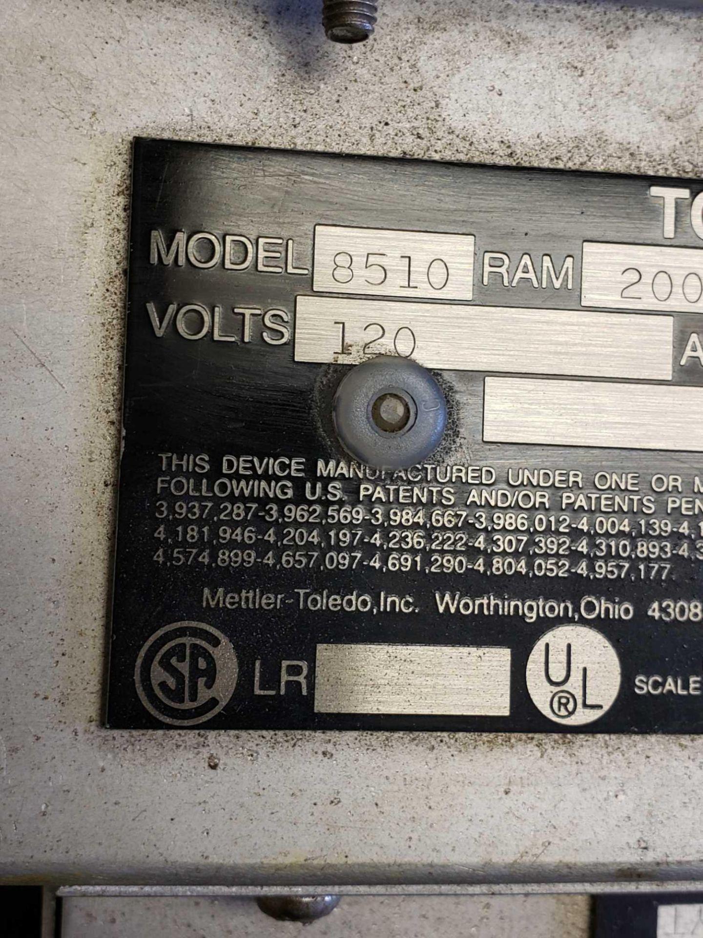 Lot 2 - Toledo scale display model 8510