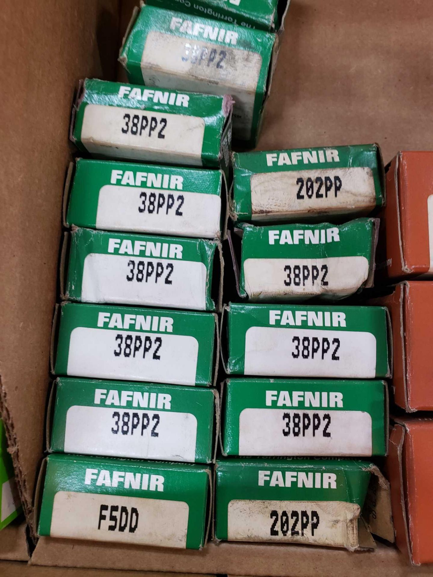 Lot 59 - Qty 21 - Fafnir Bearings assorted part numbers as pictured.