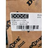 Lot 50 - Dodge bearing part number P2B-IP-115R. New in box.