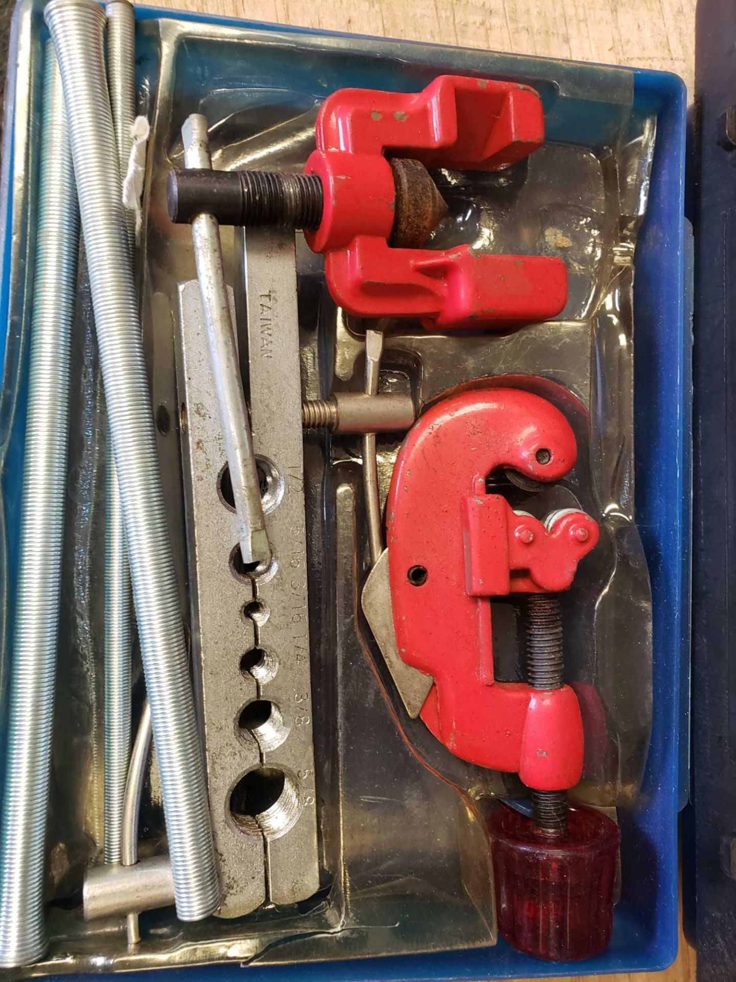 Lot 19 - Triumph Tap and Die Set as pictured