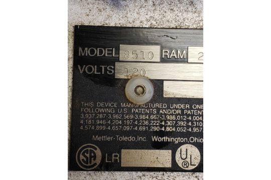 Toledo scale display model 8510  This item can be picked up